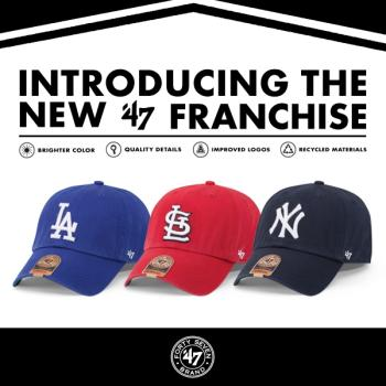 MLB Franchise fitted caps: the latest signature style from 47 Brand